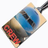 THOMSON 757-nose Crew Tag